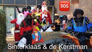 SINTERKLAAS & DE KERSTMAN IN STEENWIJKERWOLD | CHRISTIAN VREDENBURG |  #VLOG91