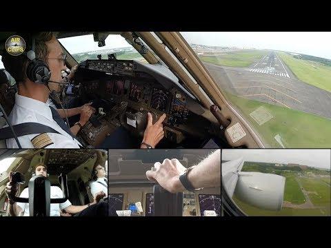 Lufthansa Cargo Boeing 777F ULTIMATE COCKPIT MOVIE Frankfurt to Narita [AirClips full flight series]