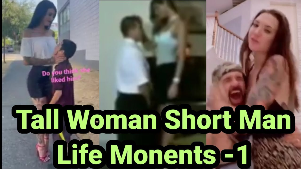 Download Tall Woman Short Man Life Moments -1   Tall Women  Tall Girlfriend  Tall girl Kiss  Tall girl  Tall