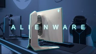"Alienware Gaming Monitors 2019 @ Gamescom: 240Hz IPS (27"") & 120Hz OLED (55"") [ENG SUB]"