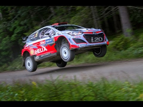 WRC Rally Finland 2015 - JUMP, ACTION & FLATOUT