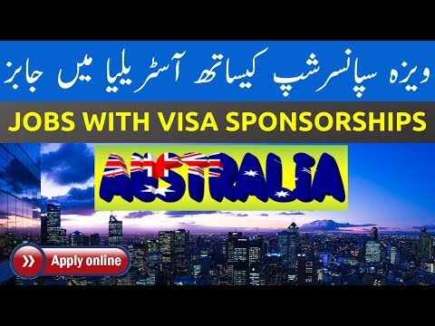 HOW TO FIND JOBS IN AUSTRALIA WITH VISA SPONSORSHIP | VISA G