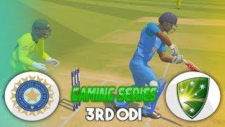 INDIA v AUSTRALIA 3RD ODI - 2019 GAMING SERIES - ASHES CRICKET 17
