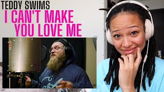 I'll love you Teddy, if she won't! 🤗 | Teddy Swims - I Can't Make You Love Me [REACTION]