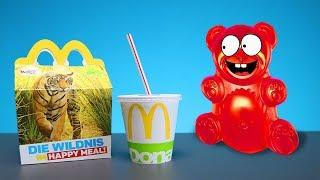 Happy Meal von McDonalds für den Lucky Bär