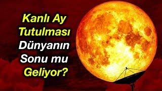 20 Ocak Gecesi Kanlı Ay Tutulması Kıyamet mi Kopacak?
