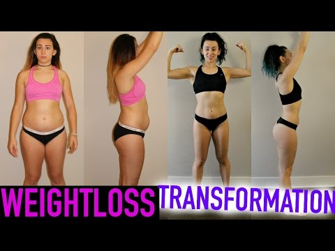 100 Day Fitness Transformation! + Before And After Pictures