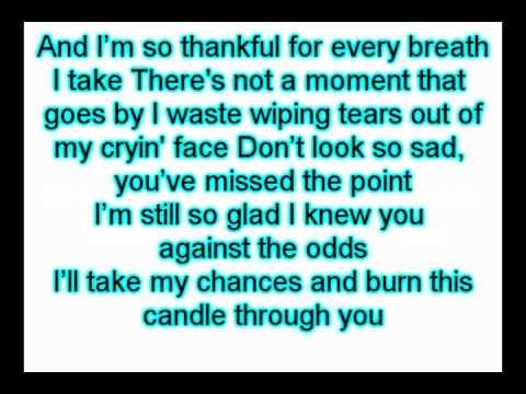 Six Candles - Fm Static Lyrics