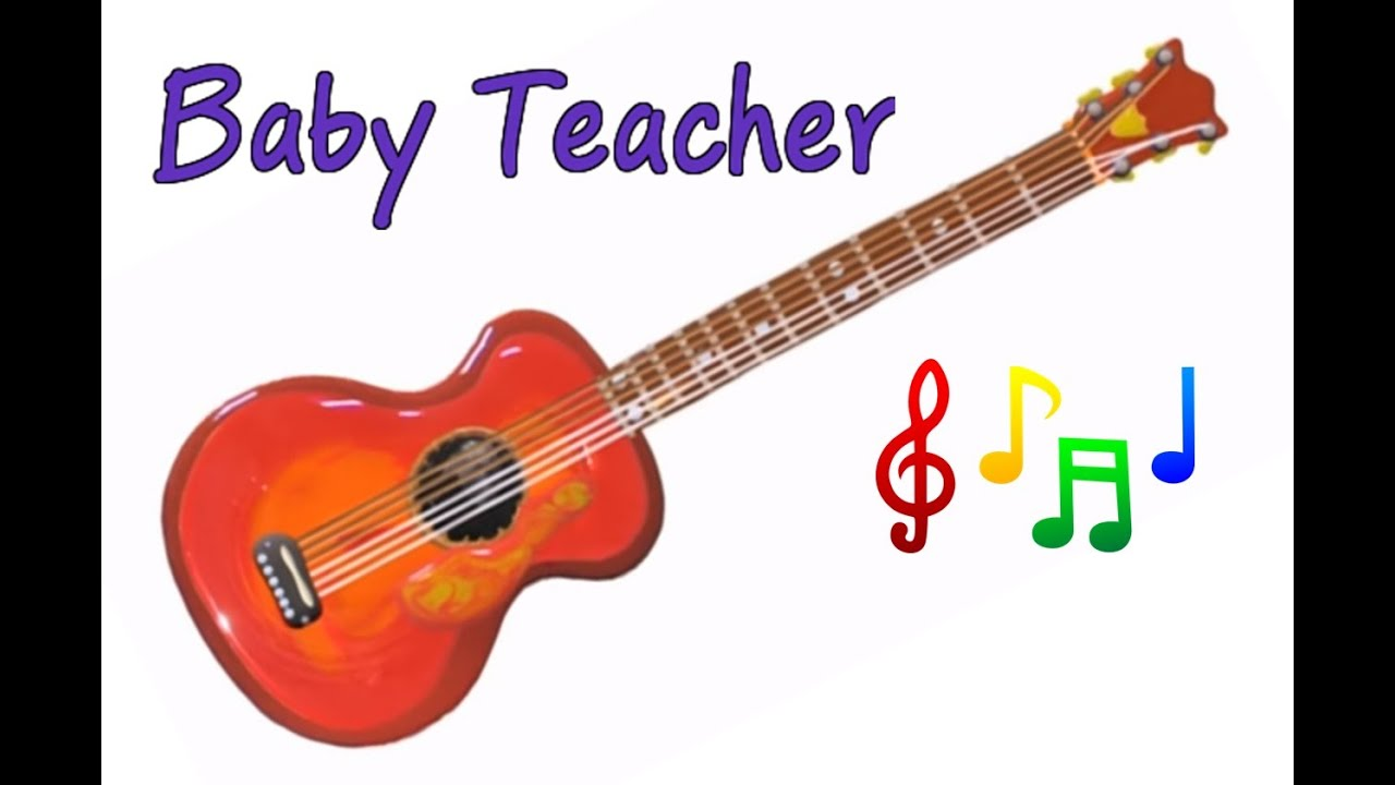 musical instruments sounds for kids guitar musicmakers episode 9 from baby teacher youtube. Black Bedroom Furniture Sets. Home Design Ideas