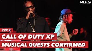 Snoop Dogg and Wiz Khalifa Performing at COD XP