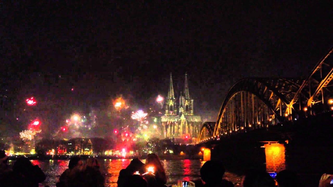 Silvesterfeuerwerk Köln