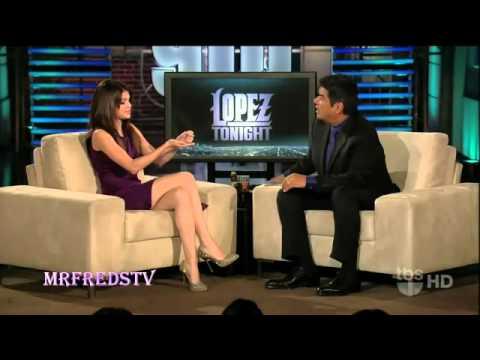 11 16 10 Selena Gomez Explains Rubbing Selena Quintanilla's Butt   Trip To Budapest on Lopez Tonight