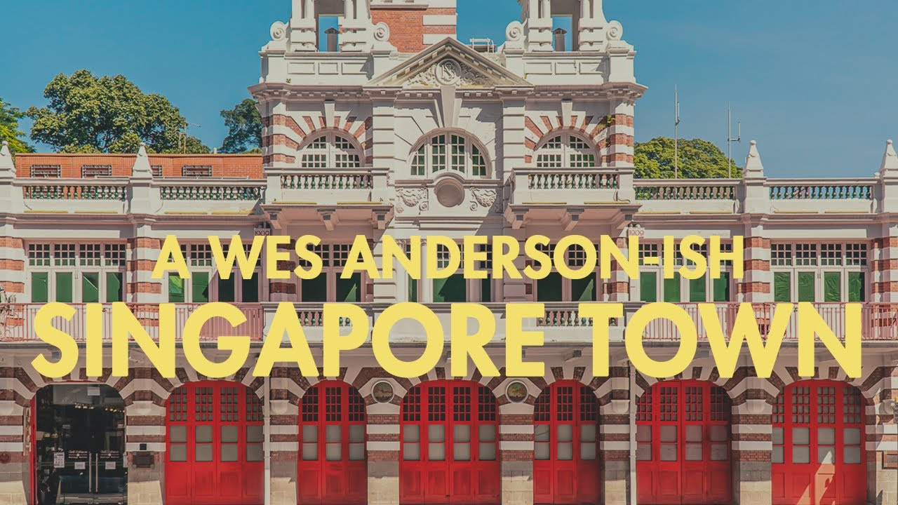 A Wes Anderson-ish Trip Around Singapore Town