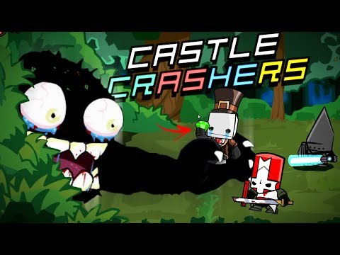 O GATO GIGANTE QUER NOS DEVORAR! 😱   Castle Crashers #2