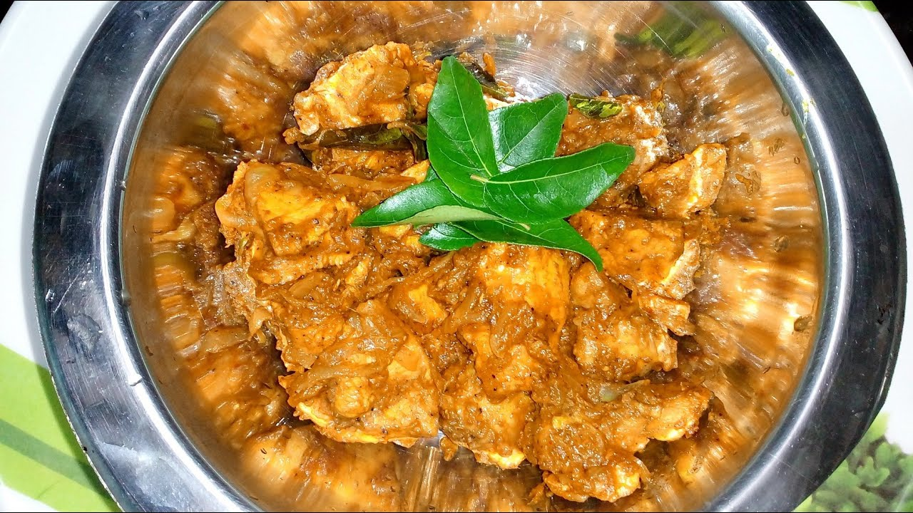 Simple Chettinad Boneless Chicken Masala Curry Recipe Fry
