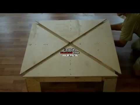 Expanding Square Table Part 6   YouTube