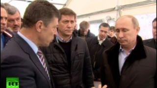 Путин раскритиковал работу Билалова в Сочи(6 февраля Владимир Путин посетил Сочи, где проинспектировал олимпийскую стройку. ПОДРОБНЕЕ: http://russian.rt.com/Russia..., 2013-02-06T17:33:22.000Z)