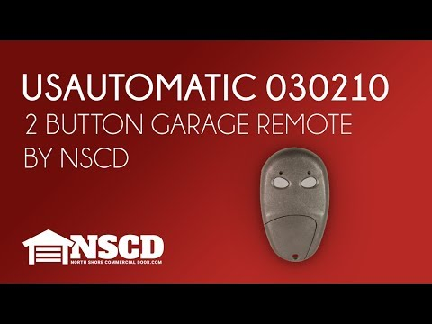 US Automatic LCR Transmitter Remote 030210 Patriot & Ranger Gate Openers