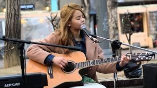 150222 Sorn CLC - On Rainy Days (Beast) @ Hongdae Playground