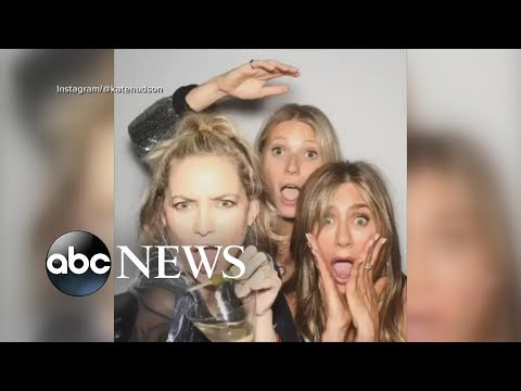 Jennifer Aniston celebrates her 50th birthday with friends and ex-husband Brad Pitt | GMA
