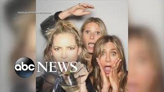 Jennifer Aniston celebrates her 50th birthday with friends and ex-husband Brad Pitt | GMA