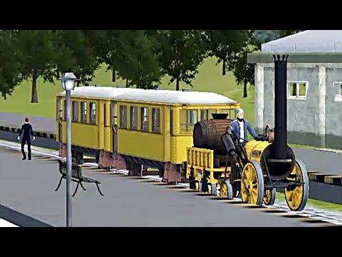 Train Sim - American Midwest Using Stephenson Rocket - Simulasi Kereta Api