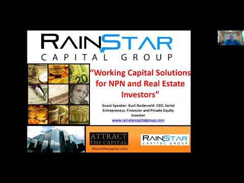 Rainstar Capital Group CEO- Kurt Nederveld speaks at US NPL Summit