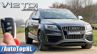 AUDI Q7 V12 TDI | REVIEW on AUTOBAHN [NO SPEED LIMIT] by AutoTopNL
