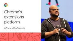 Chrome extensions and the world of tomorrow (Chrome Dev Summit 2019)
