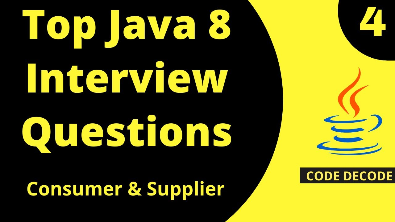 Java 8 New Features Interview Questions And Answers- Part 4    Live Demo