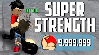 THIS CODE WILL GIVE YOU SUPER STRENGTH IN ROBLOX WEIGHT LIFTING SIMULATOR 3