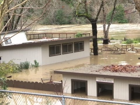 Northern Calif. Residents Survey Flooding Damage