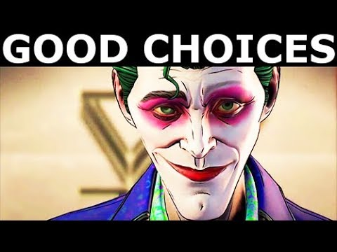 BATMAN Season 2 The Enemy Within Episode 5 - Good Choices: Villain Joker - Full Game & Ending