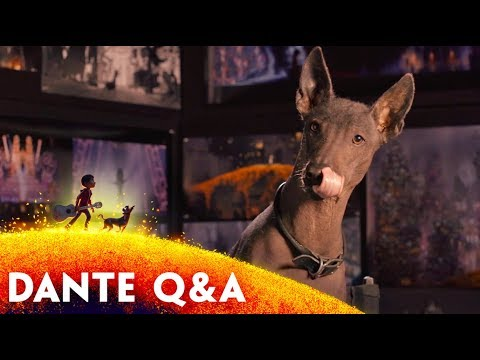 Dante Q&A  DisneyPixar's Coco  November 22 in 3D