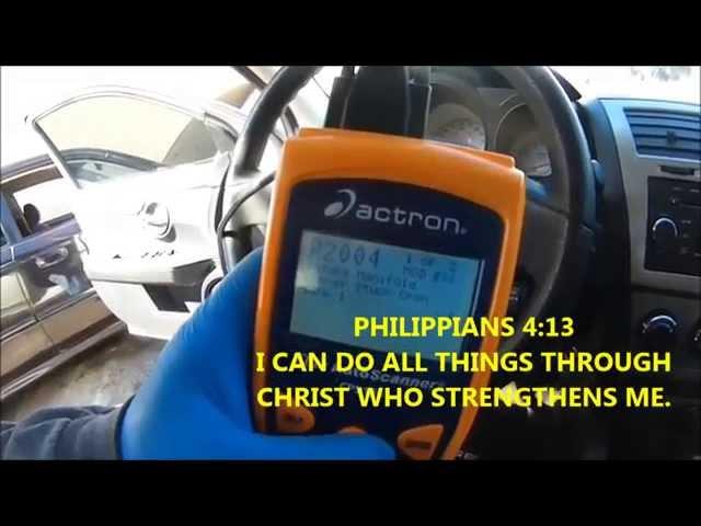 AF: 2007 Chrysler Sebring Code P2004 | Allpar Forums