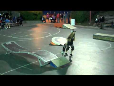 Skateboarding Demo at Indian Summer Festival