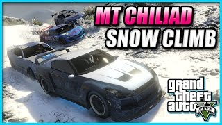 Gta Online - New Years Shenanigans - #1 Mt Chiliad Snow Climb, Snowball Fights & More!