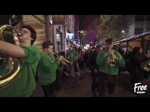 Hosen Brass at Birmingham Frankfurt Christmas Market with Free Radio