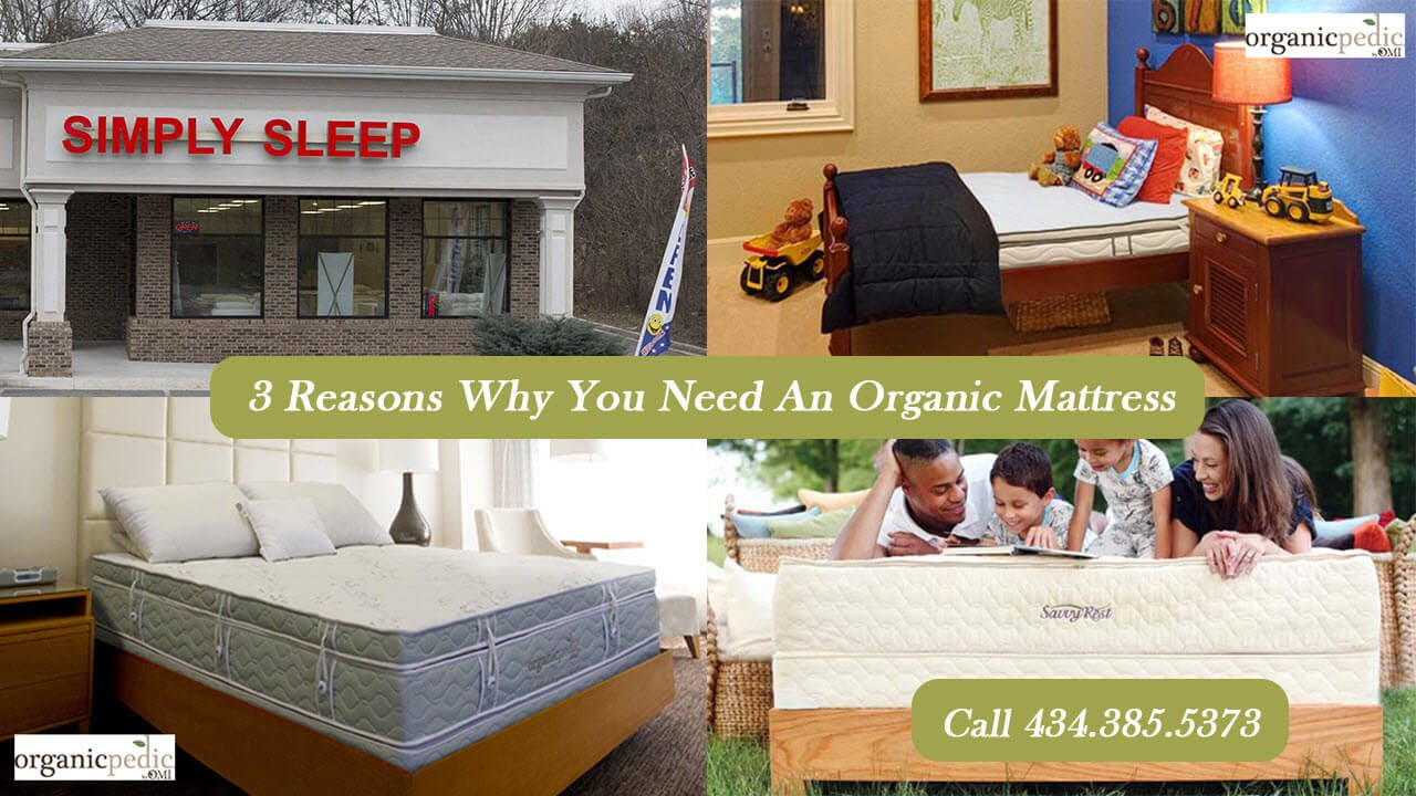 Organic Mattresses And Beds Lynchburg VA Simply Sleep