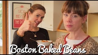Two Brits Make Boston Baked Beans - Crumbs