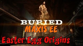CoD Zombies EASTER EGG Origins on BURIED: MAXIS Side LIVE! ★ CoD Black Ops 2 Zombies