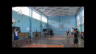 Открытый урок 9а волейбол