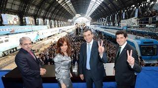 20 de MAY. Promulgación Ley de Recuperación de Ferrocarriles Argentinos. Cristina Fernández.
