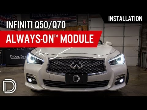 How to Install Always-On™ Module for Infiniti Q50/Q70 by Diode Dynamics