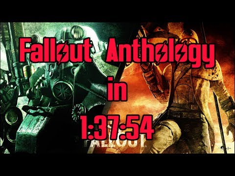 Fallout Anthology Speedrun in 1:37:54 (World Record)