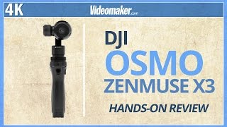 DJI OSMO X3 - Hands-on Review