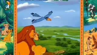 Disney Animasyonlu Hikaye kitabı Aslan Kral (CD ROM #41 Longplay)