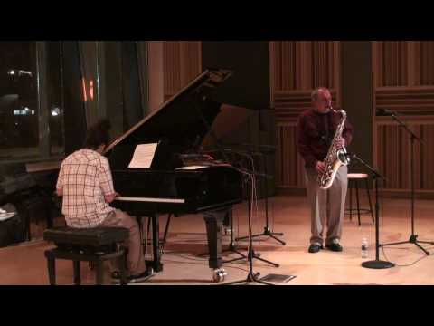 "WGBH, 89.7 Jazz In Performance: George Garzone and Leo Genovese ""Part 1"""
