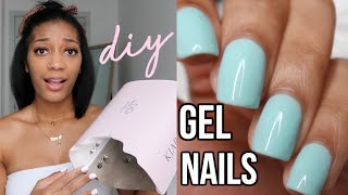DIY Gel Nails! how to do gel nails at home