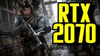 Battlefield 1 RTX 2070 OC (Multiplayer) 1080p & (4K) 2160p | FRAME-RATE TEST